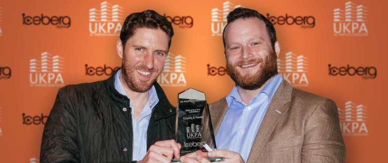 Coyote and Realla win UK PropTech Association Award for Deal of the Year 2018