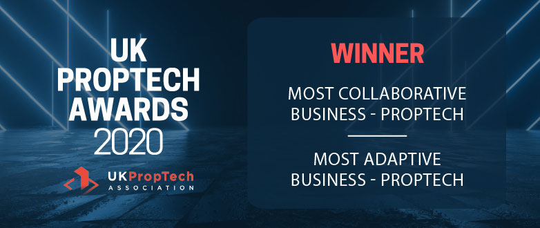 Coyote names as winners at UK PropTech Awards 2020